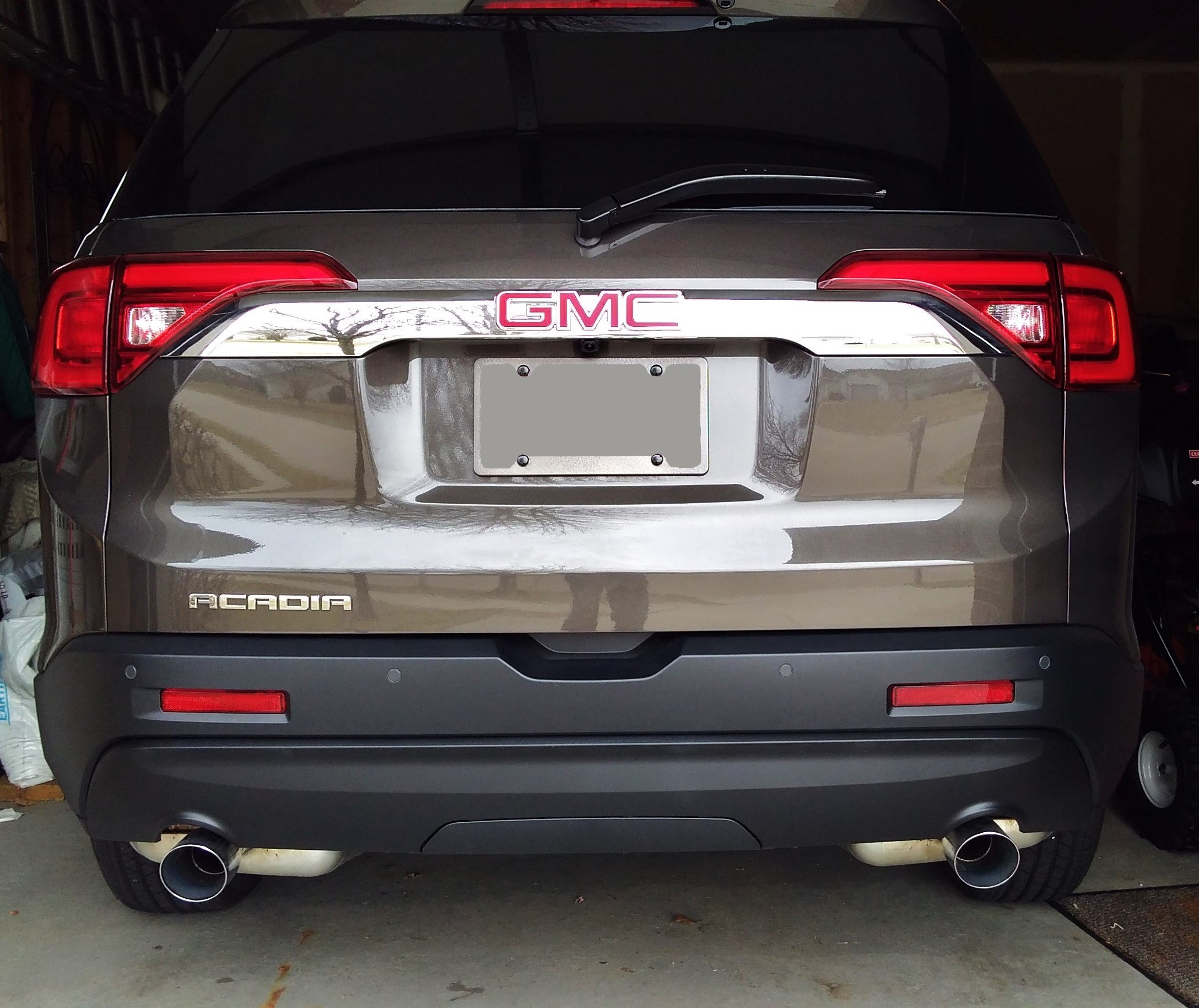 Rear Bumper Chrome Lower Cover Removal Gmc Acadia Forum
