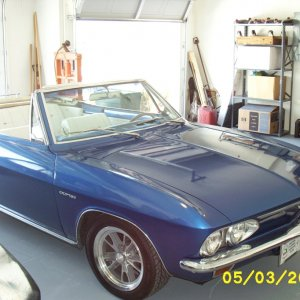 1966 Chevy Corvair Corsa Convertible